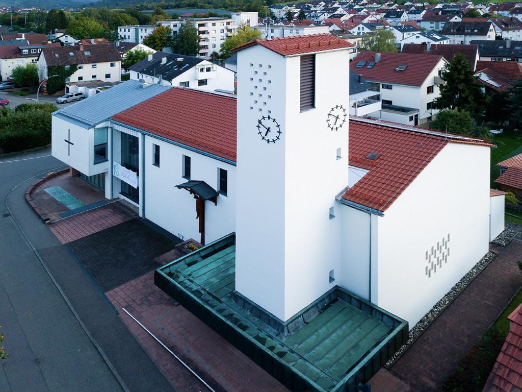 Kirchenansicht St. Anna, Beutelsbach
